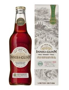 Innis & Gunn Malt Whisky Trail Limited Edition:  For the whisky lover who also enjoys a fruity, sweet, rich ale, Innis & Gunn have produced this refreshing beer barrel-aged in casks from each of the five malt whisky regions of Scotland.  Very tasty.