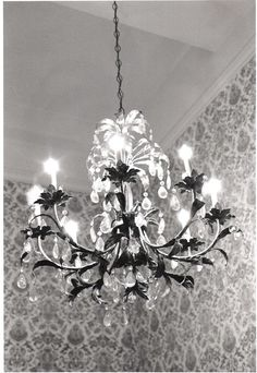 Vintage Chandelier Photo 5X7 by JessicaBarbara on Etsy, $8.00