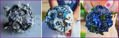 Denim Wedding Dress: popular models of 2015 and the related accessories with photos