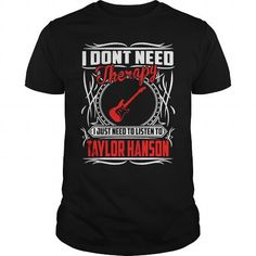 Awesome Tee Love Taylor Hanson Christmast 2017 Shirts & Tees