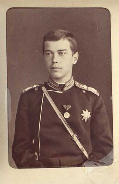 Young Nicholas II as Tsesarevich of Russia Tsar Nicolas, Tsar Nicholas Ii, Czar Nicolau Ii, Maria Feodorovna, Royal Photography, House Of Romanov, Russian Literature, Russian Revolution, Imperial Russia