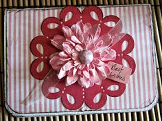 Couture Creations Doily Dies and Adalyn Flowers and Teresa Collins Spring Fling 6x6 Paper Pad