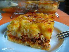 Resep Macaroni Schootel ala Lasagna