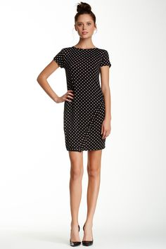 Asymmetrical Dress by Loveappella on @nordstrom_rack. I love the t-shirt style dress