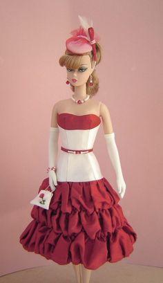 OOAK Fashions fo Silkstone/Vintage Barbie Dolls by Joby Originals