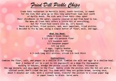 Savor this recipe from Dolly's Dixie Fixin's. Enjoy :)