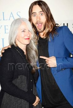 Constance Leto & Jared Leto at Dallas Buyers Club Premiere 10/17/13