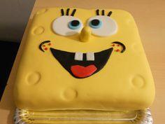 Tarta Bob Esponja. elmundodechanquetilla Party Ideas, Cake, Desserts, Food, Creativity, Spongebob, Desert Recipes, Pies, Tailgate Desserts