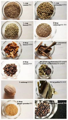 all the spices you need to make a really good garam masala powder at home. garam masala is one of the essential spice mix used in north indian recipes.