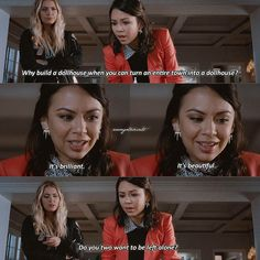 Mona+the game= endgame Pll Quotes, Pll Memes, Teen Memes, Qoutes, Pretty Little Liars Meme, How Lucky Am I, Song Playlist, Best Shows Ever, Gossip Girl