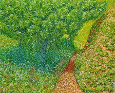 Almencinos. Óleo sobre lienzo. 2011. 61x50cm  150€