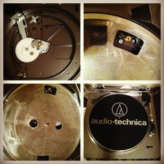 Insta user readymadeal shows us many faces of her new #audiotechnica #turntable. Looks great! Happy spinning!