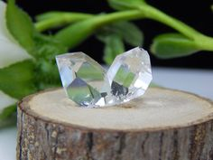 A personal favorite from my Etsy shop https://www.etsy.com/listing/508140042/herkimer-diamond-twinned-crystal