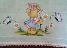 Bear Picking Flowers