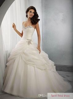 d9baf3962af Wholesale Ball Gown Wedding Dresses - Buy 2014 In Stock Exquisite  Sweetheart Wedding Dresses Back Lace