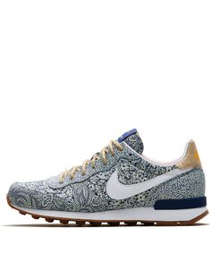 Nike x Liberty Blue Liberty Print Internationalist Trainers