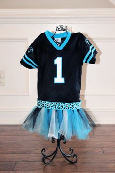 Carolina Panthers Jersey Dress by TomboyPrincessDesign on Etsy 41c2dec60