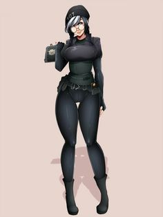 Rainbow Six: Siege ~ Rule 34 Update, Issue Pics] Anime Sexy, Anime Sensual, Thicc Anime, Chica Anime Manga, Anime Comics, Anime Art, Rainbow Six Siege Dokkaebi, Rainbow 6 Seige, R6 Wallpaper