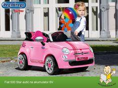 hr Peg Perego Fiat 500 Star autić na akumulator Fiat 500, Peg Perego, Star Wars, Stars, Bebe, Sterne, Starwars, Star, Star Wars Art