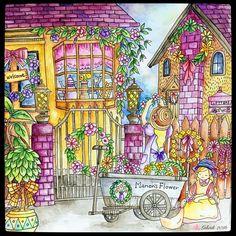 #romanticcountry #romanticcountrycoloringbook #adultcoloringbook #coloring…