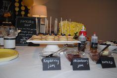 You Are My Sunshine party - 2nd birthday - Pancake Bar