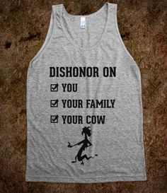 Dishonor On You
