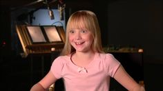 """The Peanuts Movie """"Sally"""" Official Interview - Mariel Sheets"""