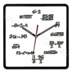 Nástenné hodiny matematické hero http://www.coolish.sk/sk/originalne-darceky/nastenne-hodiny-matematicke-hero