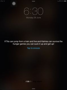 Hunger games and divergent alarm. Divergent Memes, Divergent Hunger Games, Divergent Fandom, Divergent Trilogy, Divergent Insurgent Allegiant, Hunger Games Series, Jorge Ben, Fandom Quotes, Nerd Problems