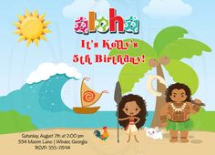 Waterslide Birthday Party Invitation By LollipopPrints On Etsy 1000