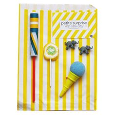 YELLOW PARTY BAG