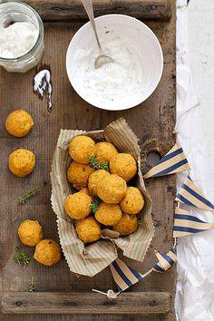 Polpette con lenticchie rosse - meatballs