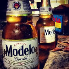 Keep it classy with a Modelo Cerveza #modelo #beer #tacotues