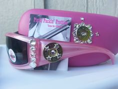 Light Pink Fight Back 20G matching case completed in Crystal Clear. This is a Breast Cancer Awareness Donation item!