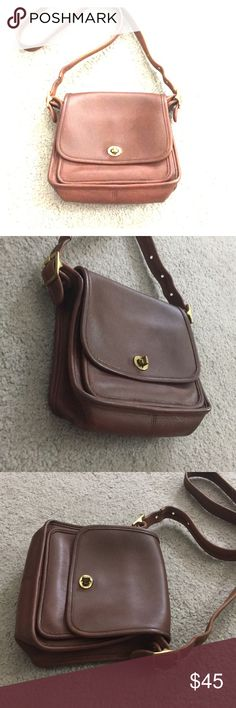 💕 Coach tan vintage crossbody purse j8c-9061 💕 Very nice coach tan vintage Leather Crossbody messenger style bag has a side pocket as well as a zipper pocket inside authentication number JBC – 9061 see photos for details non-smoking home fast to livery I don't excellent price get it today while it lasts 😍 Coach Bags Crossbody Bags