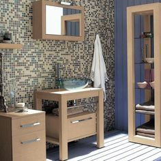 BigBathroomShop offer a stylish range of bathroom furniture sets in a variety of designs, sizes and finishes - ideal for revamping any bathroom. Light Oak Furniture, Furniture Sets, Bathroom Furniture, Bathroom Ideas, Mirror Cabinets, Drawers, Table, House, Design