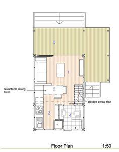 Tiny house pré fabricada, estilo pavilhão, com 200 pés quadrados (18,60 m²). Para mim é um dos melhores modelos que analisei.