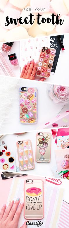 pinterest: @jaidyngrace For your sweet tooth! Shop these droolworthy phone cases here >>> https://www.casetify.com/artworks/2qyxBLZrY0   | @casetify