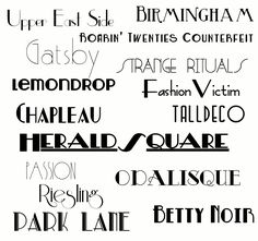 The Great Gatsby is coming - get ready with these 15 FREE Gatsby-Inspired Fonts