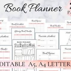 Bullet Journal Printable Page Collection Hand Drawn Style | Etsy