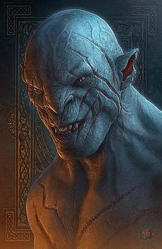 Azog the Defiler has pursued the Company-- or, more accurately, Thorin--throughout the journey.