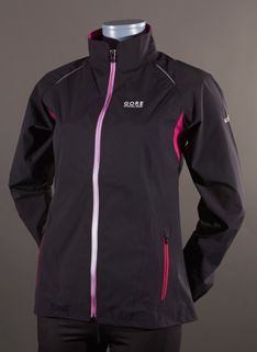 Gore SUNLIGHT 2.0 GT AS LADY Jacket - Womens Running Clothing - Black-Thai Pink