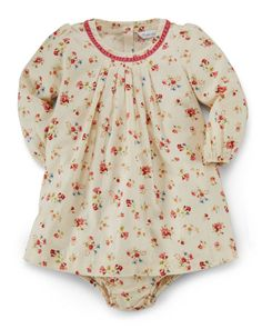 Floral Cotton Dress & Bloomer - Baby Girl Dresses & Skirts - RalphLauren.com