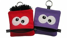 GG Designs Embroidery - Mini Monster Zipper Pouch (in the hoop) (Powered by CubeCart)
