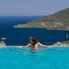 This hotel pool in Marmaris was one to remember.