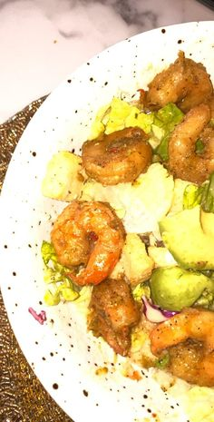 Healthy Low Calorie Meals, Low Calorie Recipes, Healthy Recipes, Shrimp And Avacado Salad, Salade Healthy, Food Vids, Breakfast Smoothie Recipes, Snap Food, Food Snapchat