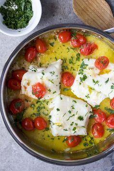 Lemon Butter Baked Cod 20 Stress-Free Summer Seafood Recipes You Can Make In 30 Minutes Baked Cod Recipes, Lemon Recipes, Delicious Recipes, Shellfish Recipes, Seafood Recipes, Recipe For Lemon Butter, Garlic Butter, Baked Fish Tacos, Broccoli Salad With Cranberries