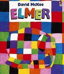 Elmer is not like the rest of the elephants in the jungle, he's a multi-coloured patchwork elephant! In this story, Elmer discovers that his friends l. Book Study, Book Art, Elmer The Elephants, Elephant Book, Colorful Elephant, Happy 30th Birthday, 12th Book, Square Patterns, Children's Book Illustration