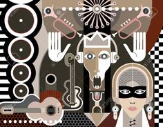 25956793-Abstract-Music-Art-vector-illustration-Stock-Vector.jpg (1300×1016)