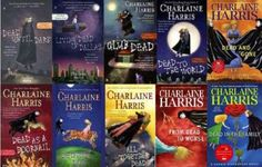 The Sookie Stackhouse series by Charlaine Harris. Brain candy - no nutritional value, but I still couldn't stop myself...